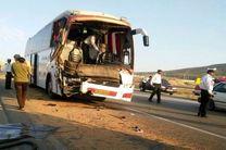 یک کشته و ۱۴ مصدوم در واژگونی یک اتوبوس در محدوده هشتگرد