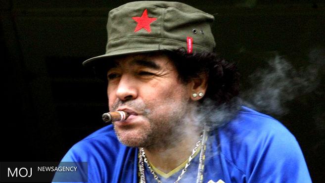 مارادونا به اتهام دزدی واکنش نشان داد