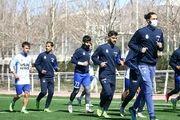 تمرین امروز تیم فوتبال استقلال تعطیل شد