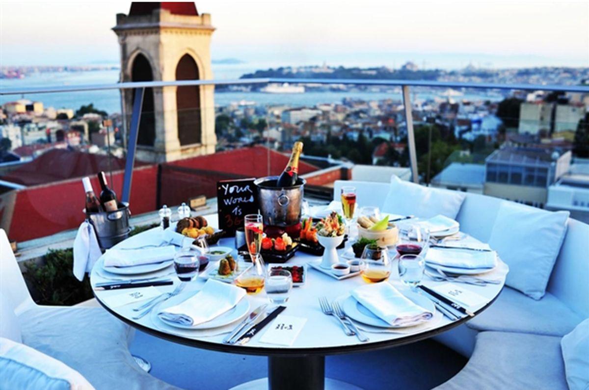 رستوران های استانبول با پروتکل های بهداشتی