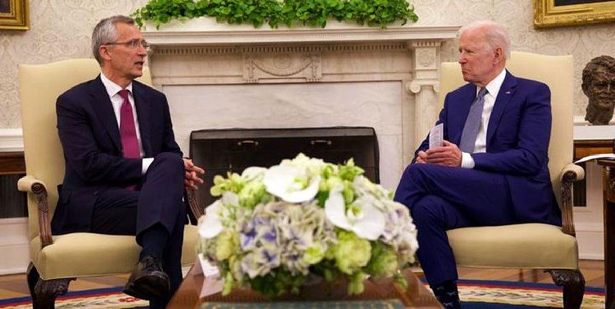 اظهارات ضد چینی رئیس ناتو پس از دیدار با جو بایدن