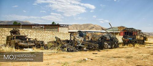 صبح+تصادف+مرگبار+اتوبوس+و+تانکر+سوخت+در+سنندج