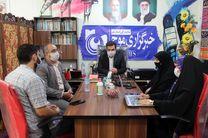 بازدید مدیرکل کمیته امداد امام خمینی(ره) از دفتر سرپرستی خبرگزاری موج قم