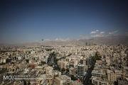 کیفیت هوای تهران در 29 فروردین 98 سالم است