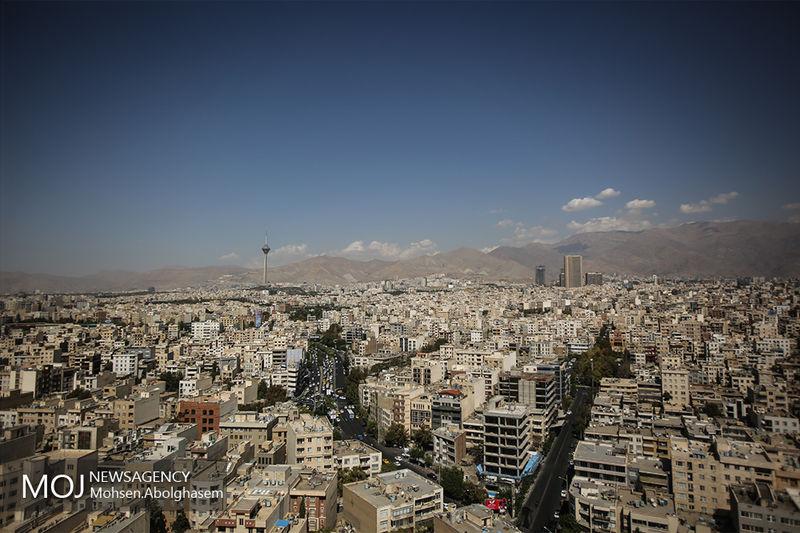 کیفیت هوای تهران در 13 آبان ماه سالم است
