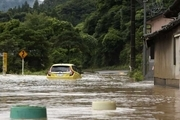 وقوع سیل در ژاپن با ۲ قربانی و دهها مفقودی