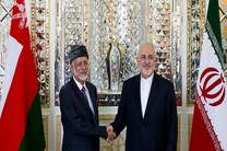 ظریف میزبان همتای عمانی خود می شود