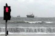 باد، بنادر مسافری مرکزی هرمزگان را تعطیل کرد