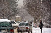بارش برف و باران در جادههای سه استان کشور