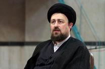 سید حسن خمینی شفای عاجل لاریجانی را از خداوند مسألت کرد