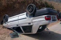 واژگونی خودروی پراید در گلستان ۵ مصدوم برجای گذاشت