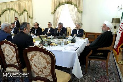 جلسه بررسی پروژه های عمرانی استانی خراسان رضوی