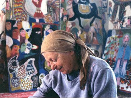 اولین و آخرین نقاشی ننه مکرمه در گالری گاما