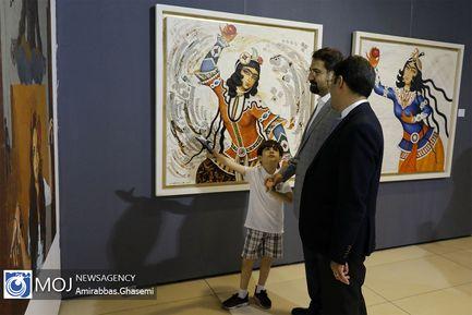 افتتاح نمایشگاه هنرهای تجسمی خانه خوبان