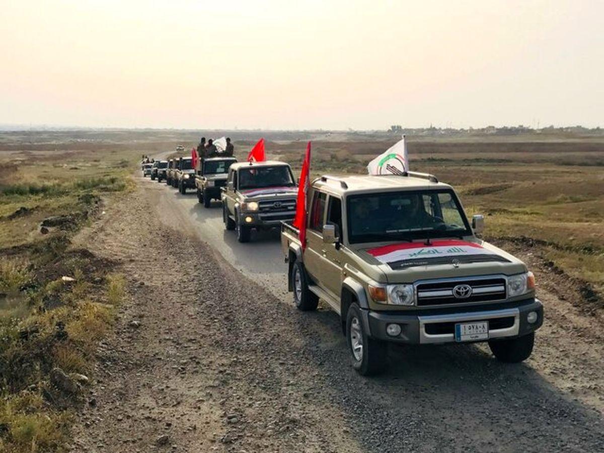 حمله راکتی به پایگاه حشد شعبی در استان کرکوک