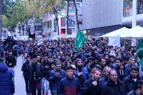 راهپیمایی روز امام حسین (ع) در اتریش برگزار شد