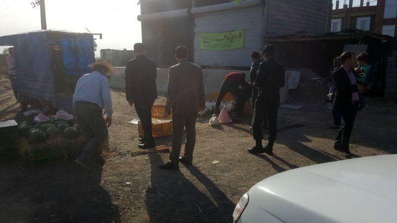 برخورد با عرضه کنندگان غیر بهداشتی مرغ زنده در پارس آباد