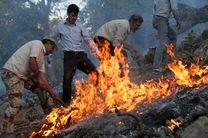 آتش سوزی جنگلهای پلدختر مهار شد