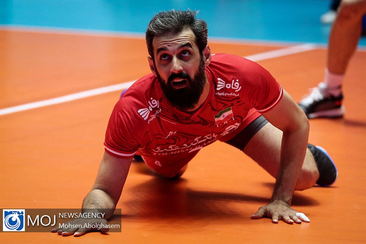 تغییر اضطراری در ترکیب تیم ملی والیبال ایران/ علی شفیعی جایگزین سعید معروف شد