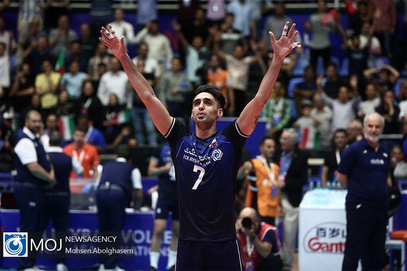 نتیجه بازی والیبال ایران و چین/ صدرنشینی ایران با بردی قاطع مقابل چین
