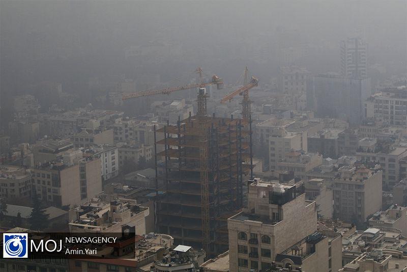 کیفیت هوای تهران ۲۳ مهر ۹۹/ شاخص کیفیت هوا به ۱۲۳ رسید