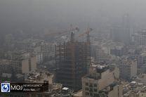 کیفیت هوا در کدام مناطق تهران در وضعیت قرمز قرار دارد؟
