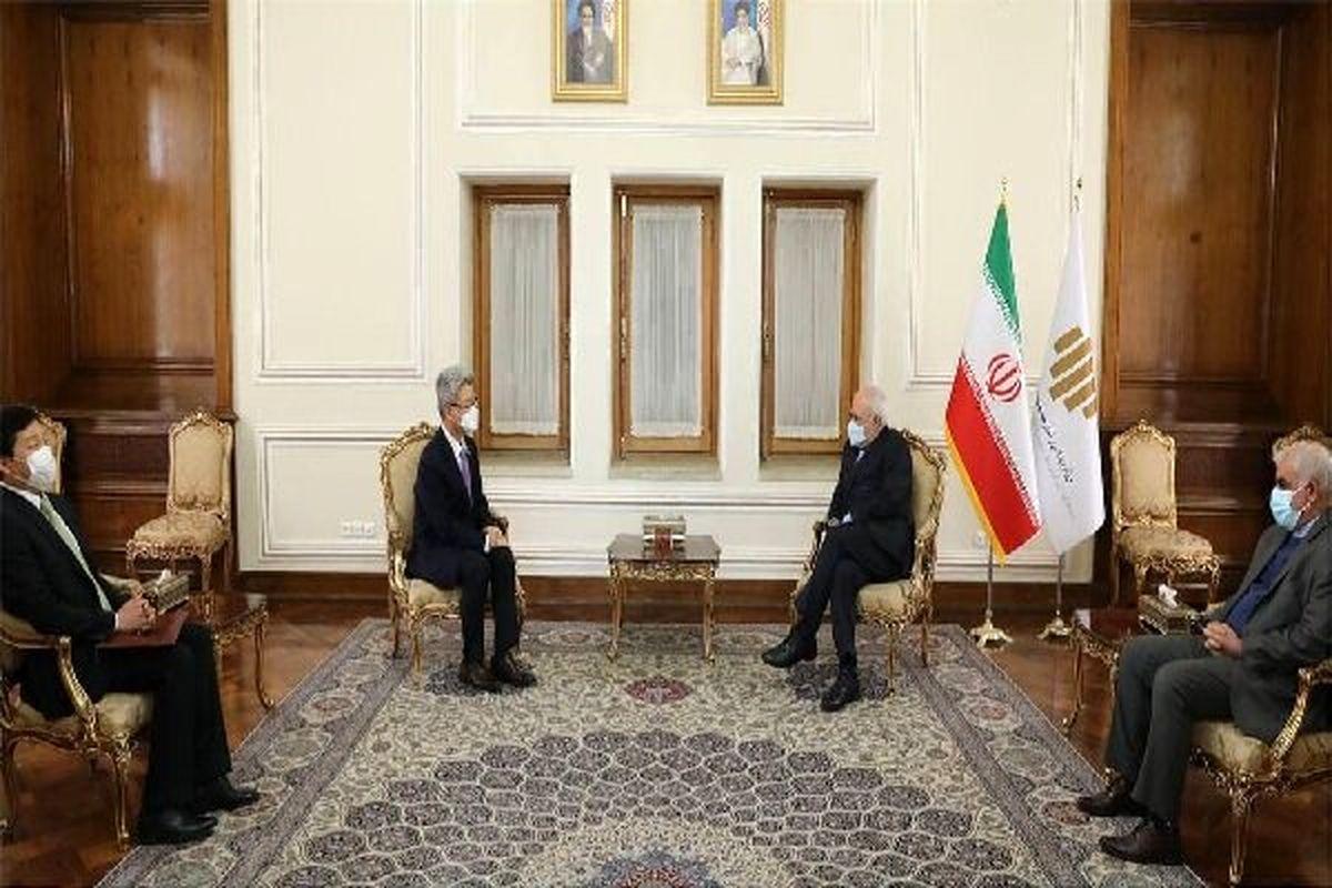 سفیر کره جنوبی با ظریف دیدار و خداحافظی کرد