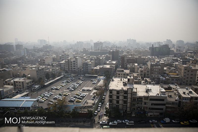 کیفیت هوای تهران در 19 بهمن 97 ناسالم است