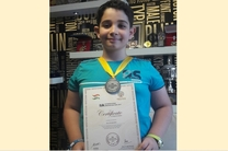 مدال برنز نمایشگاه بین المللی اختراعات آلمان نصیب مخترع نوجوان گیلانی شد