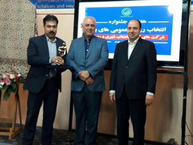 کیومرث حسن نژاد مدیر برتر روابط عمومیهای صنعت آب و فاضلاب کشور شد