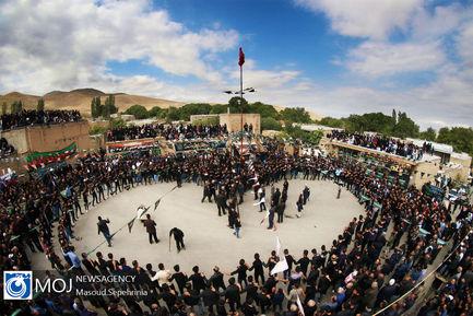 عزاداری+تاسوعای+حسینی+(ع)+در+روستای+انامق+مرند