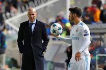 تابستان امسال زیدان رئال مادرید را ترک می کند