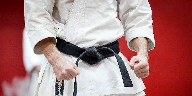 یک هرمزگانی در اردوی تیم ملی کاراته