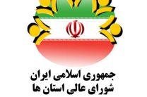 سخنگوی شورای عالی استان ها انتخاب شد