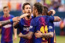 پیروزی بارسلونا برابر یوونتوس با درخشش نیمار