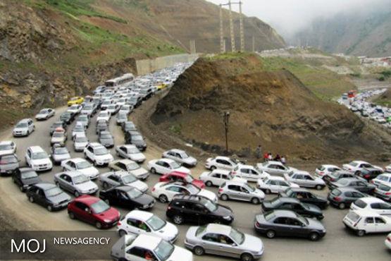 ترافیک نیمه سنگین در آزادراه کرج