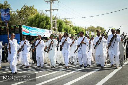 مراسم رژه نيروهاى مسلح در بندرعباس