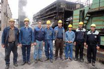 تعمیرات واگن شرقی کک و زغال واحد 2 با موفقیت انجام شود