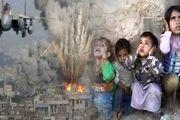 حمله توپخانهای ائتلاف سعودی به شهر الحوک در یمن