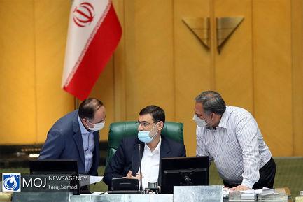 جلسه بررسی لایحه بودجه سال ۱۴۰۰ در صحن علنی مجلس - ۱۳ اسفند ۱۳۹۹