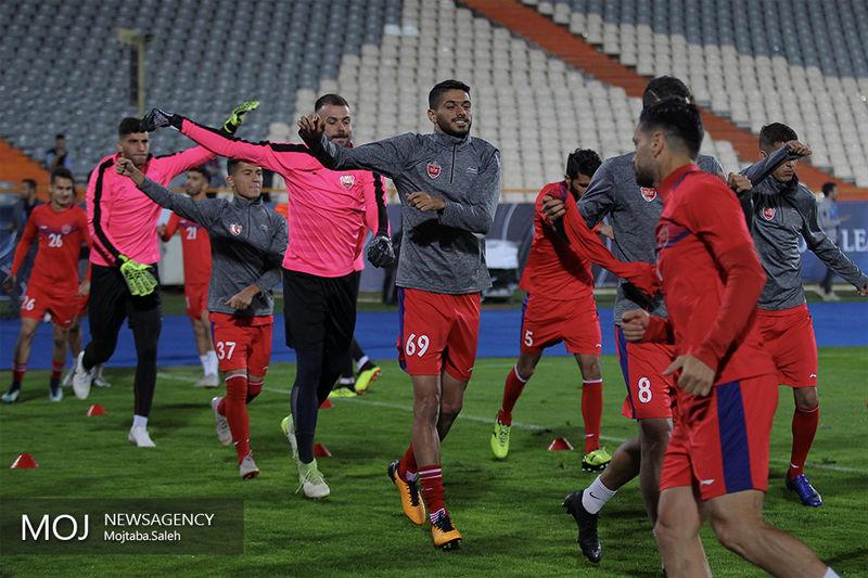 ترکیب تیم فوتبال پرسپولیس مقابل تراکتورسازی مشخص شد