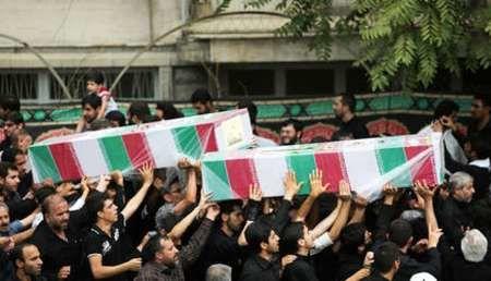 12 شهید حادثه تروریستی تهران در بهشت زهرا(س) به خاک سپرده خواهند شد