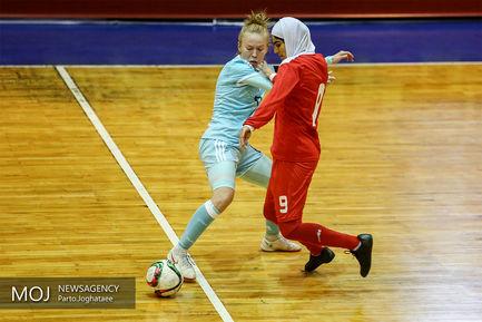 دیدار دوستانه تیم های ملی فوتسال بانوان ایران و روسیه