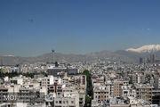 کیفیت هوای تهران در 14 شهریور 98 سالم است
