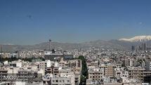 کیفیت هوای تهران در 29 شهریور 98 سالم است
