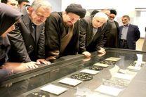 سیدحسن خمینی از موزه ملی ایران بازدید کرد