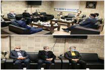 دیدار سرپرست مخابرات اصفهان با مدیر کل فنی و حرفه ای