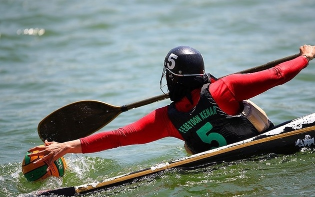 تیم ملی کانوپولوی بانوان به آب میزند
