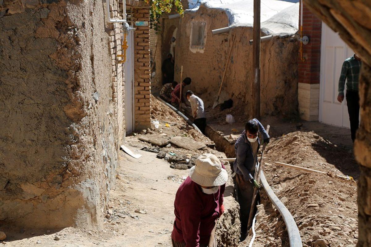 آبرسانی پایدار به 9 روستا در بخش کوهپایه اصفهان