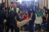 دستگیری دهها معلول معترض به بیمه ترامپ در ساختمان کنگره آمریکا